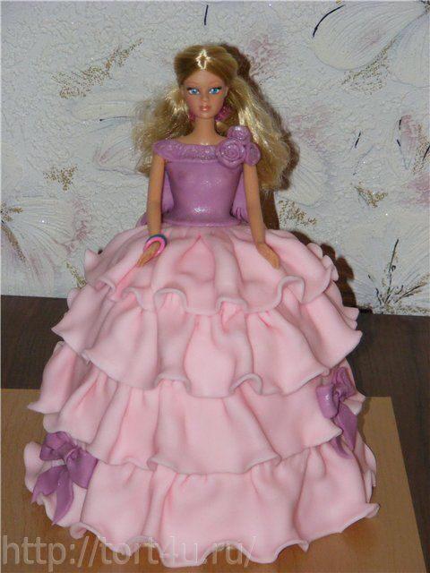 Пошаговый рецепт приготовления торта кукла Барби из мастики. как приготовить пельмени повкусней.