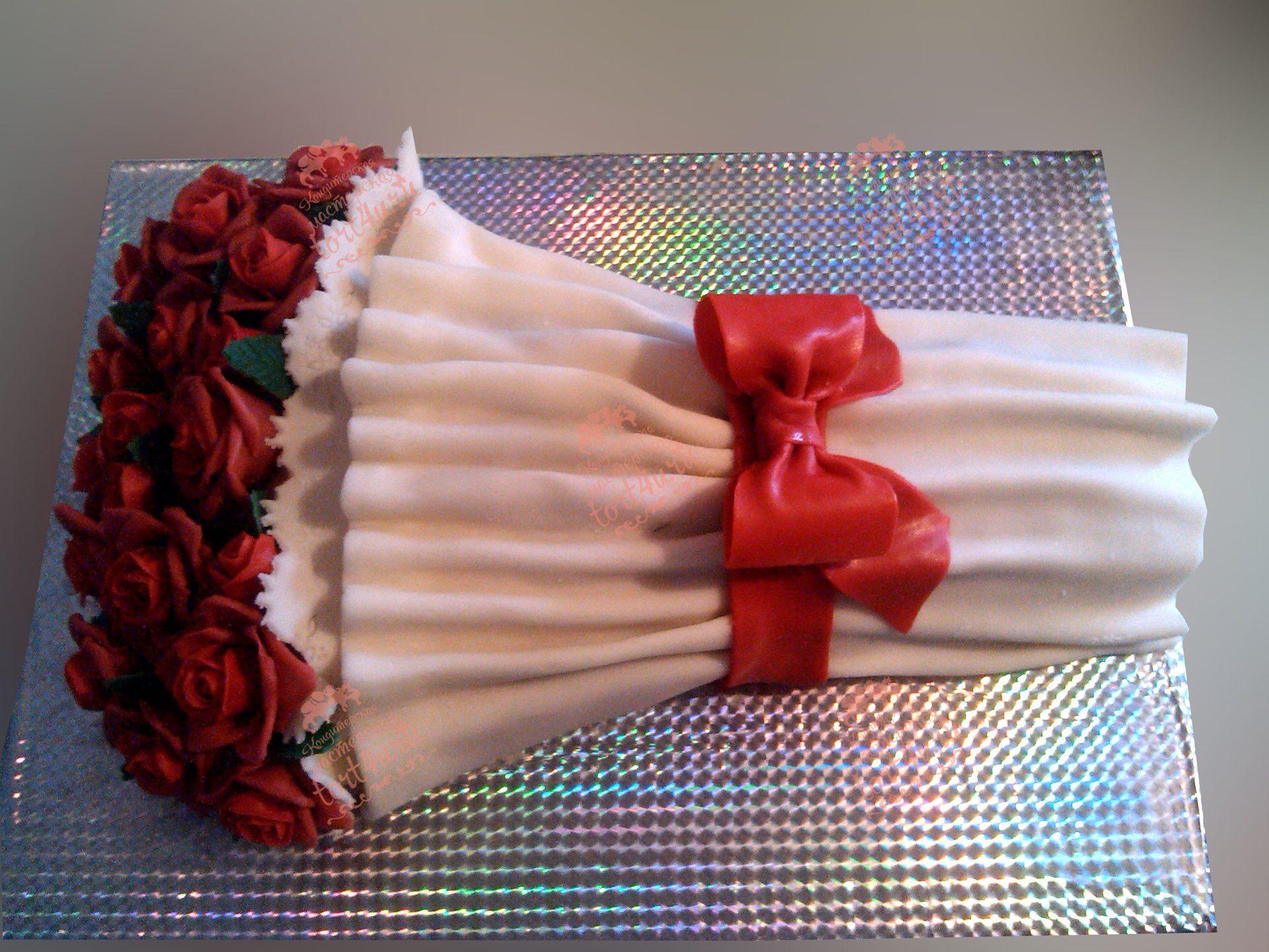 Торт букет цветов фото пошагово