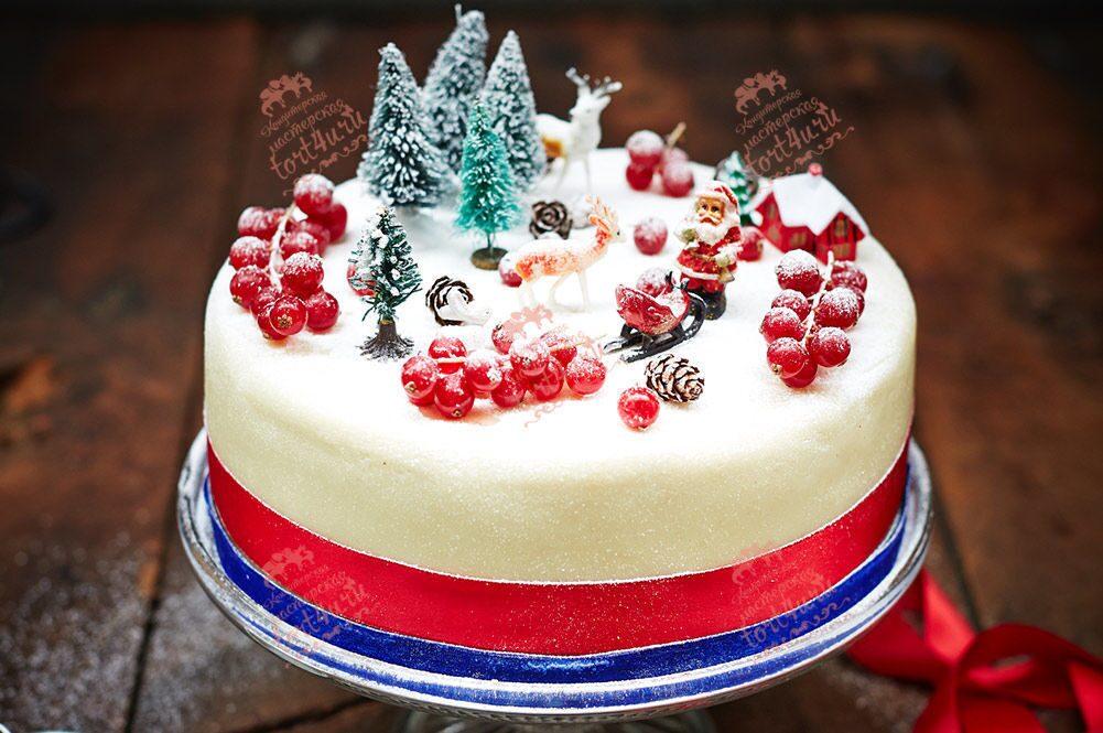 Торт для нового года рецепты