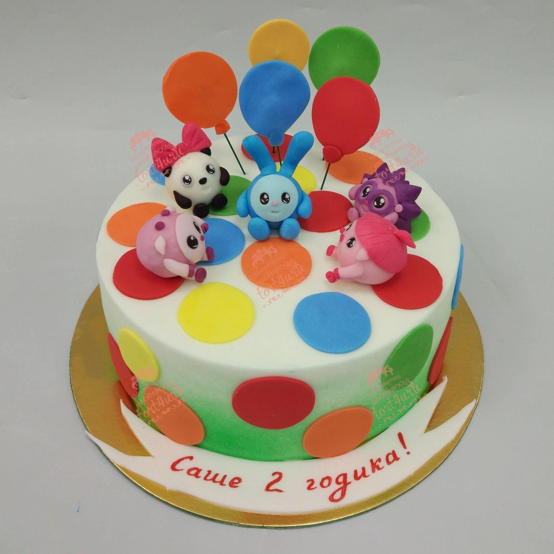 Фото открытых тортов для детей