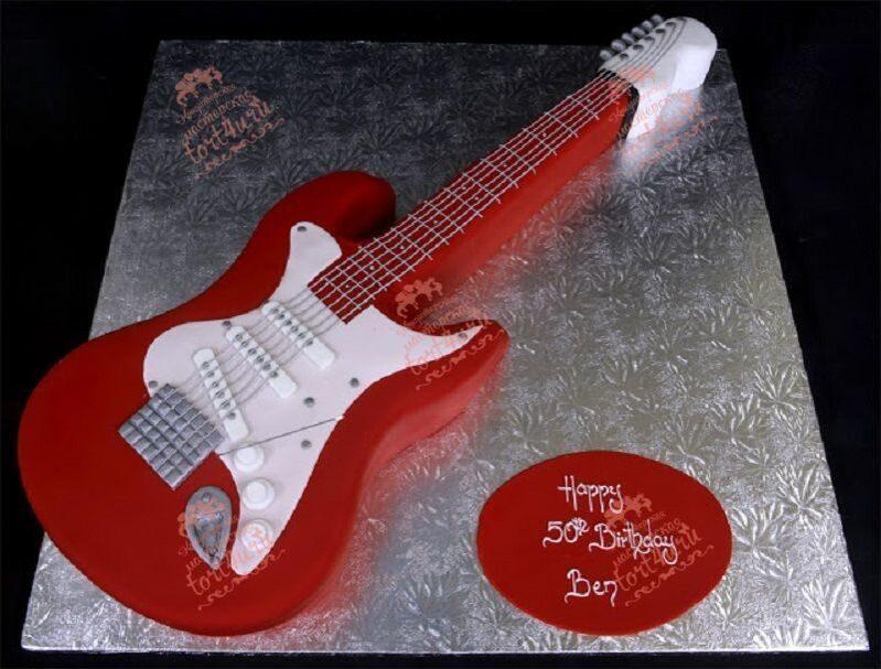 Торт гитара как его сделать 515
