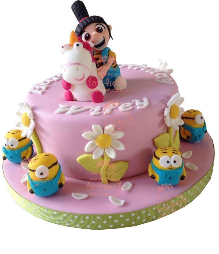 Тортик на 3 годика