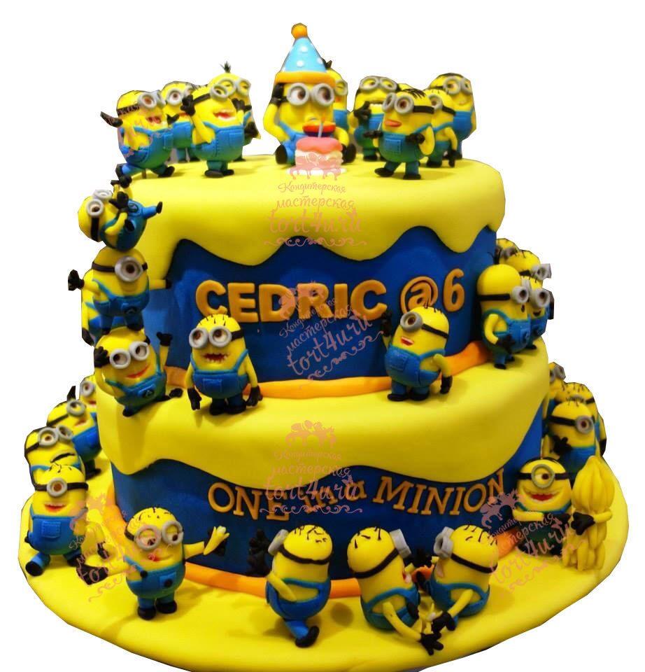 Торт декор детски