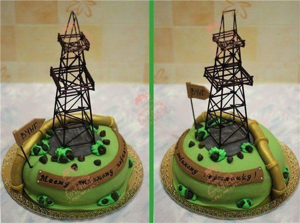 Торты фото с днем нефтяника