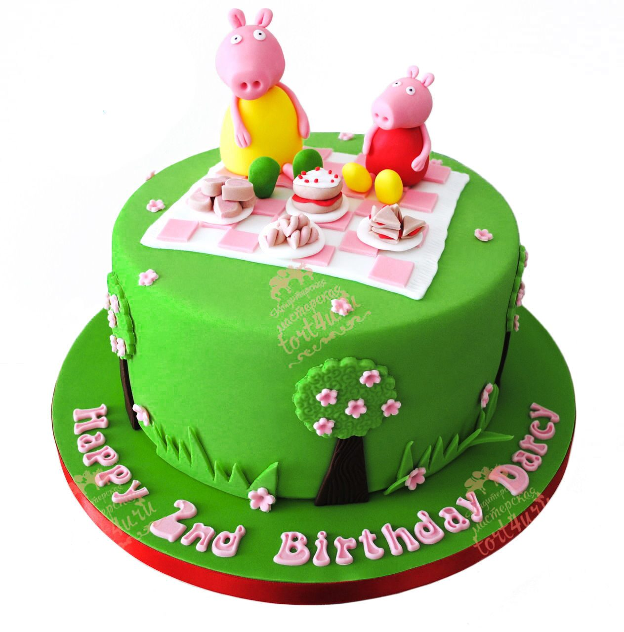 Домашний торт на 2 годика
