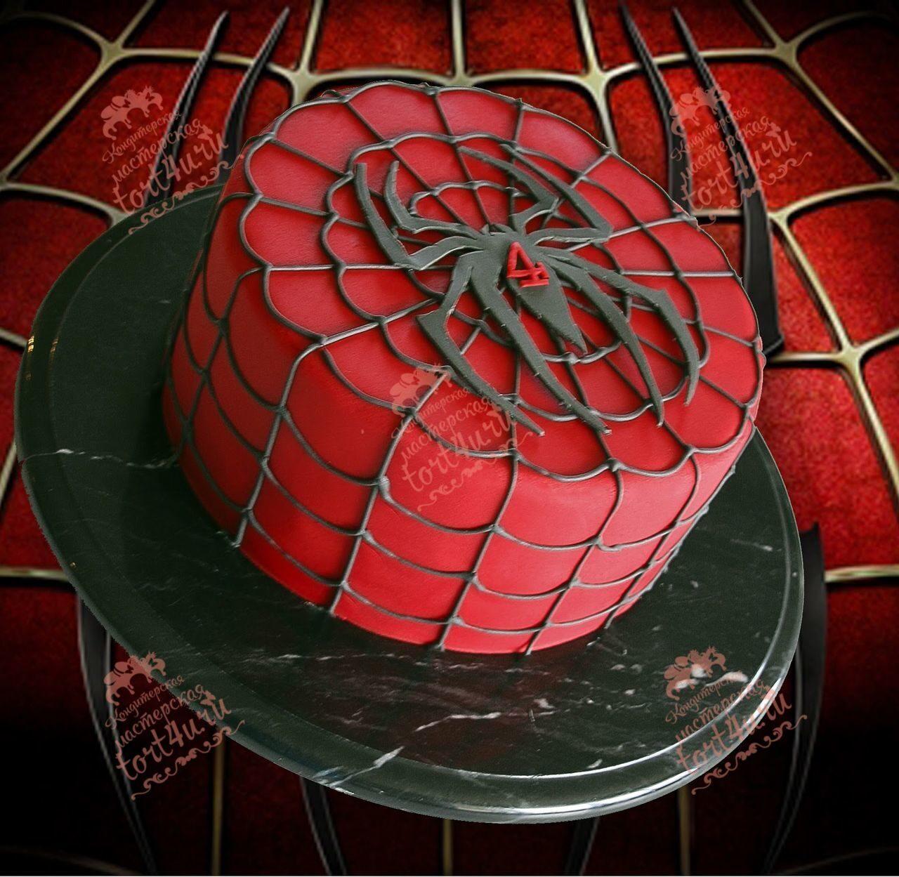 Как сделать паук для торта 517