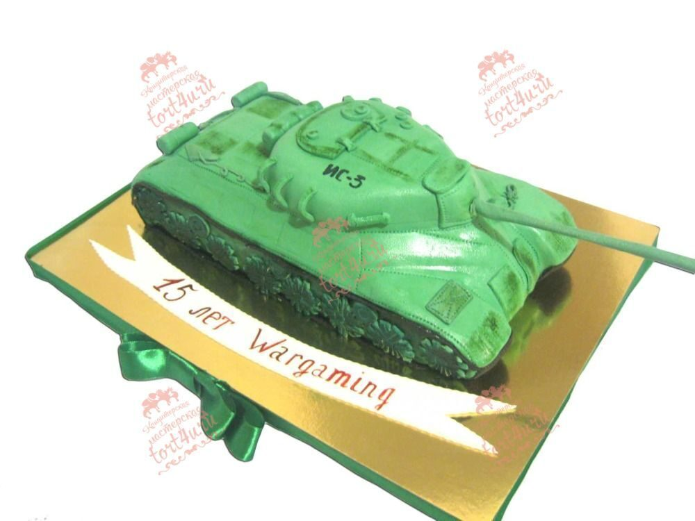 Торт танк на заказ - более 15 вариантов!