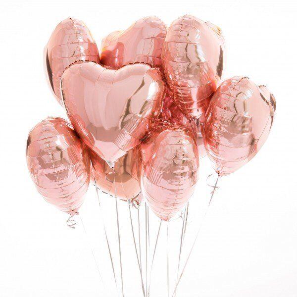 15 сердечек