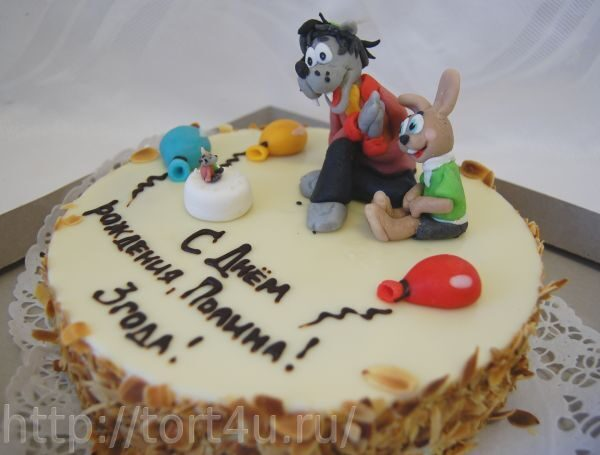 детские торты ну погоди фото