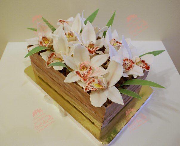 Торты Корзина с цветами - 80 фото