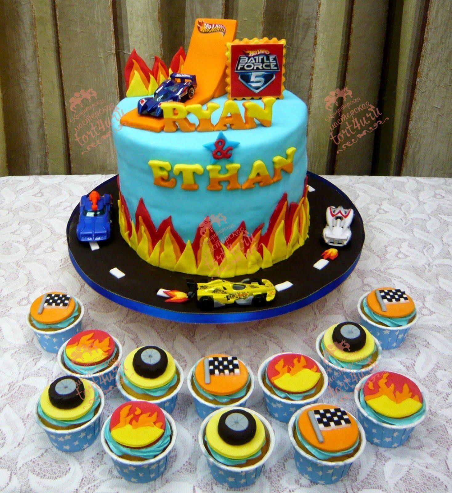 торт с хот вилс фото