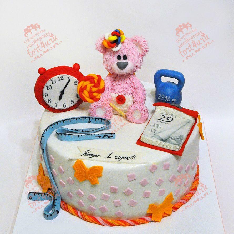 Торт на 1 годик для ребенка