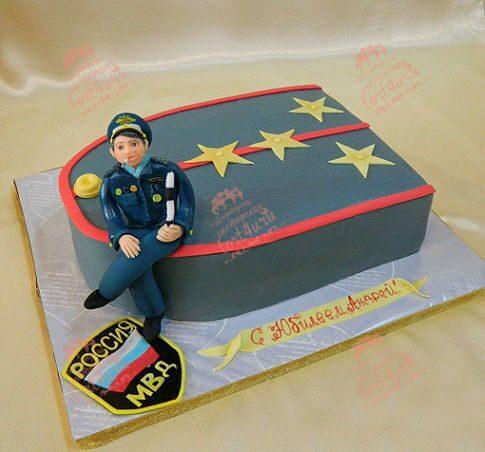 Торт для полицейского фото