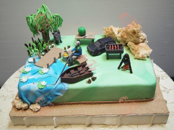 Торты на день рождения парню фото