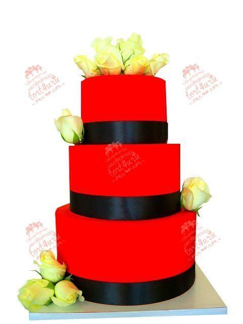 Красные свадебные  недорого в москве