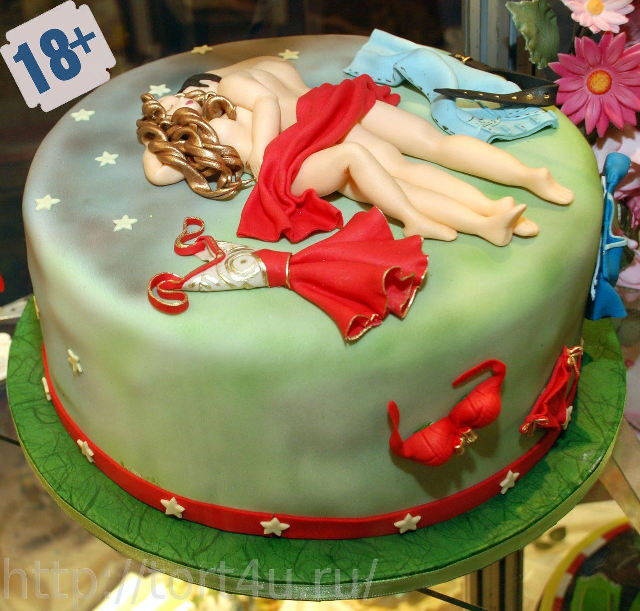 Торт на секс