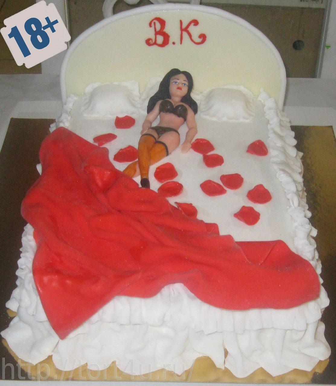 Девушка в торте секс