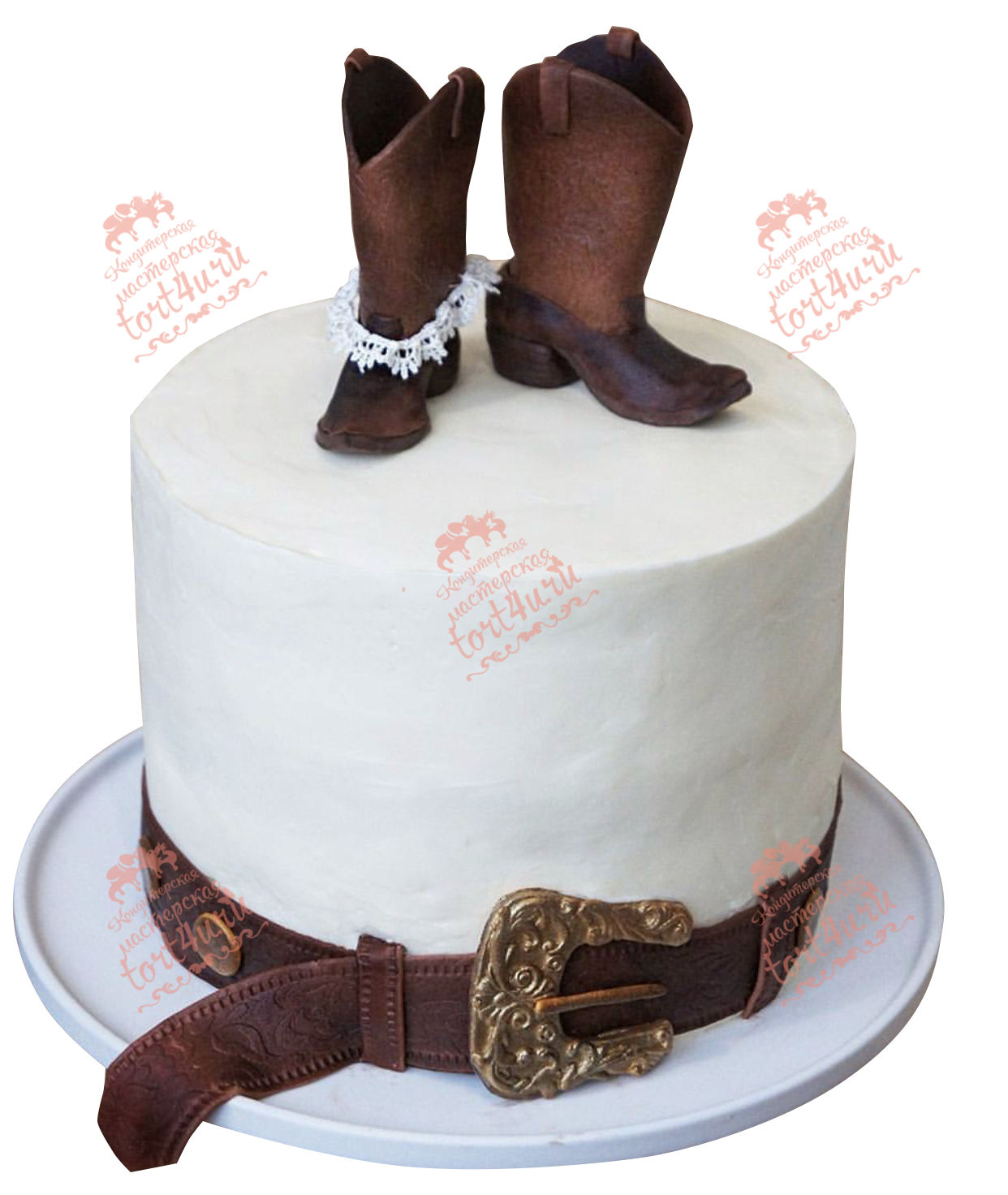 Кожаная свадьба торт фото